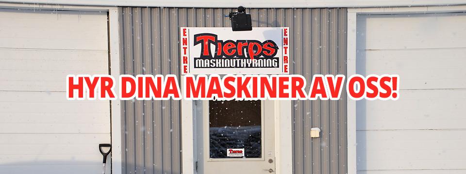 Välkommen till Tierps maskinuthyrning